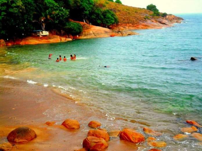 Praia do Paraíso em Cabo do Santo Agostinho é uma das melhores praias de Pernambuco