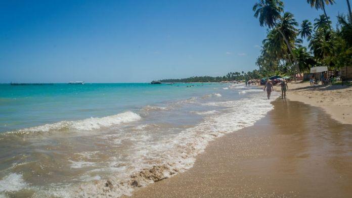 Praia de Peroba, Maragogi, Alagoas.