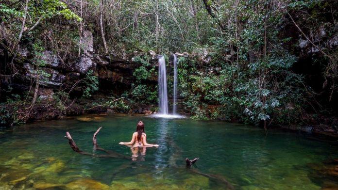 Cachoeira Loquinhas, Chapada dos Veadeiros.