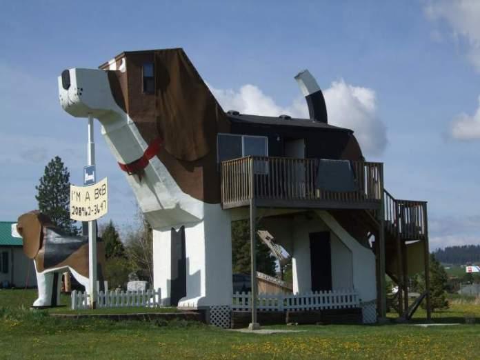 Dog Bark Park Inn é um dos hotéis inusitados ao redor do mundo