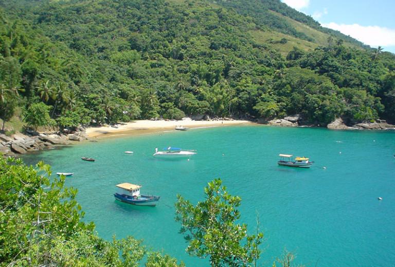 Praia da Fome em Ilhabela