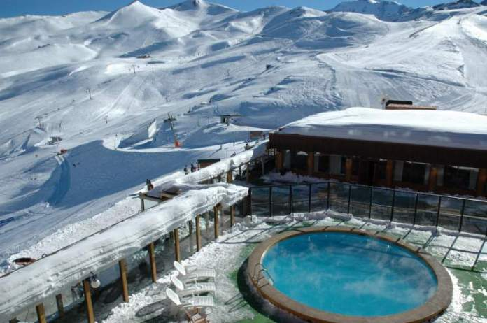 Valle Nevado no Chile é um dos lugares mais divertidos para viajar com crianças