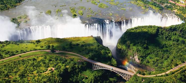 Victoria Falls (Cataratas de Vitória)