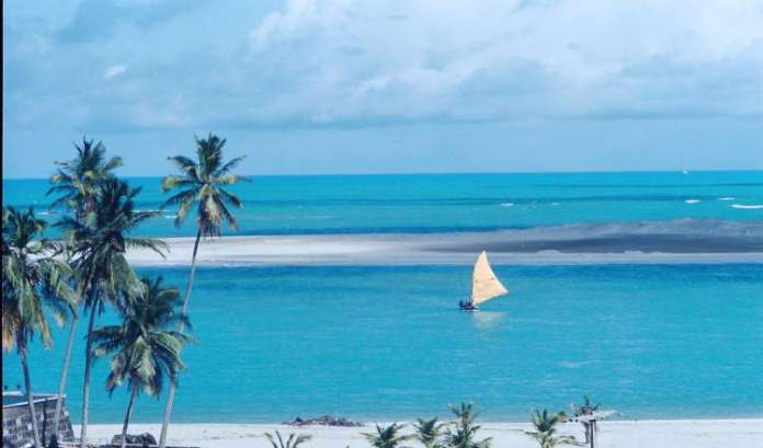 Praia da Barra de Cunhaú