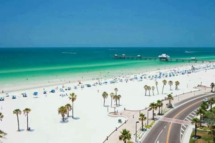 Clearwater Beach é uma das Melhores praias da Flórida