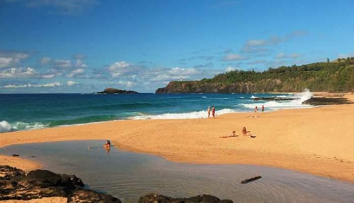 Kauapea, Kauai praias mais lindas do Havaí