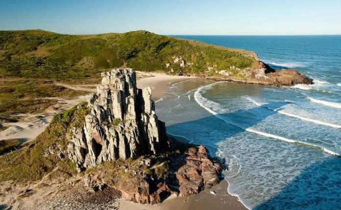 Praia da Guarita, Torres é uma das praias mais lindas do Sul Brasileiro