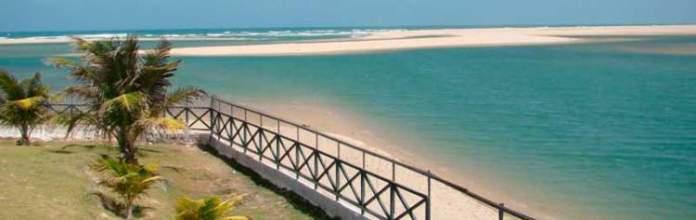 Praia de Águas Belas é uma das praias mais bonitas de Fortaleza