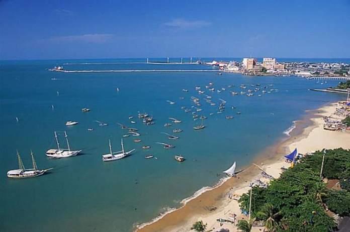 Praia de Mucuripe é uma das praias mais bonitas de Fortaleza