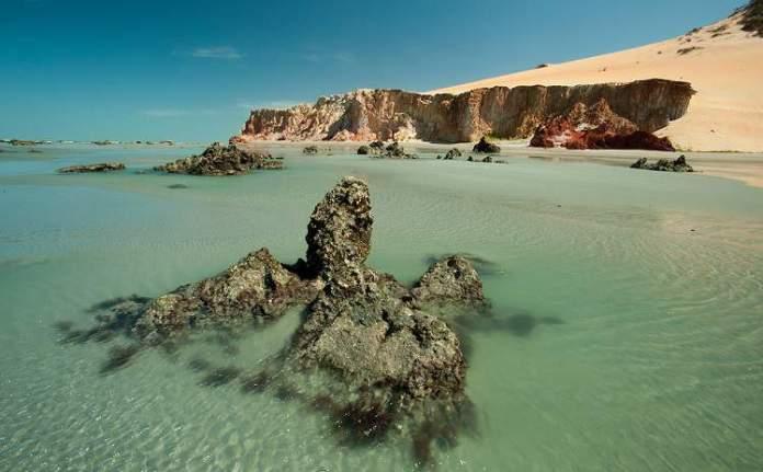 Praia de Ponta Grossa é uma das praias mais bonitas do Ceará