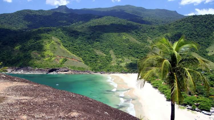 Praia do Bonete em Ilhabela - São Paulo é uma das praias mais bonitas do Brasil