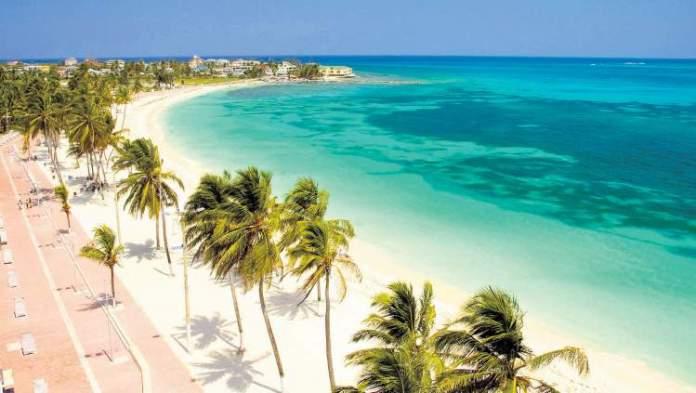 San Andrés praias são paradisíacas