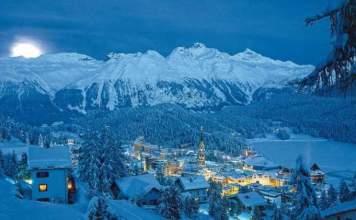 St. Moritz na Suiça