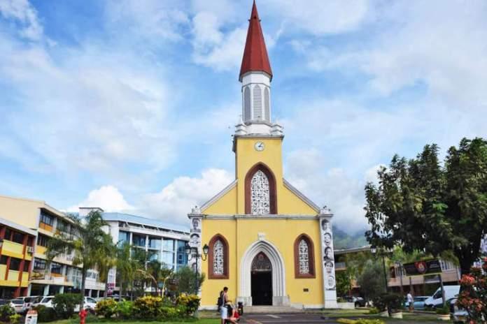 catedral da capital Tahiti