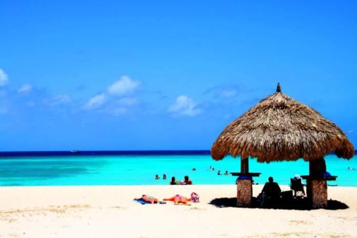 Arashi Beach é uma das melhores praias de Aruba
