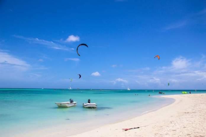 Hadicurari Beach ou Fisherman`s Hut é uma das melhores praias de Aruba