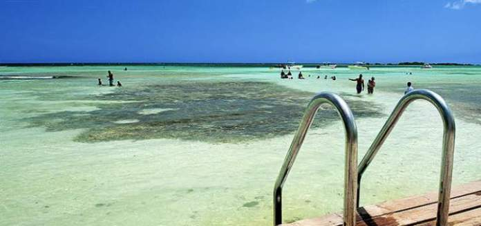 Mangel Halto é uma das melhores praias de Aruba