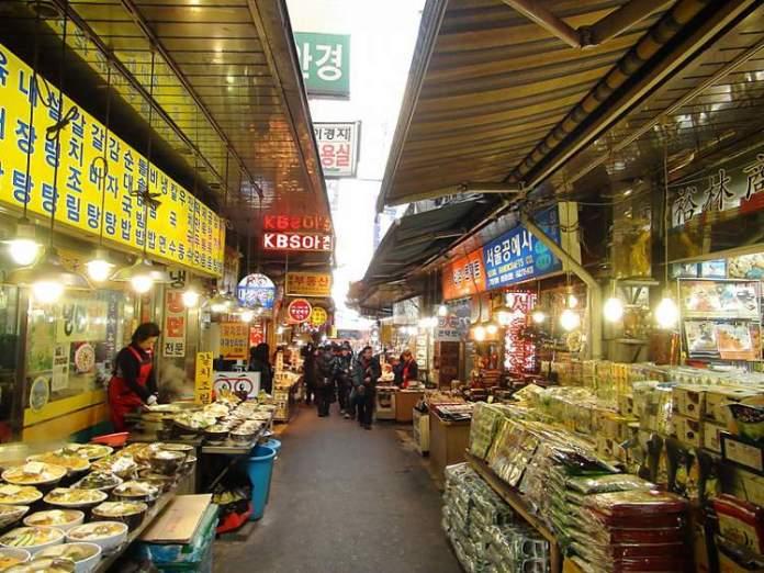 Mercado Coréia do Sul