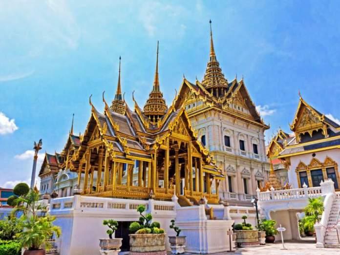 Templo do Buda e Esmeralda Tailândia