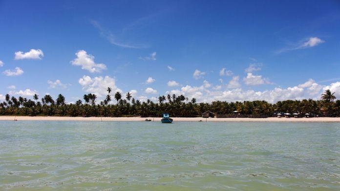 Conhecer a praia do Toque é ter certeza que Alagoas é o Caribe brasileiro.