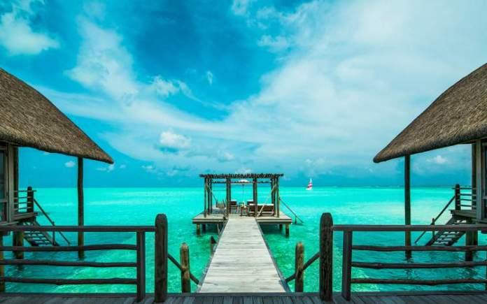 COMO Cocoa Island – Malé (Maldivas) é um dos hotéis flutuantes ao redor do mundo