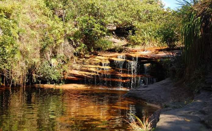 Cachoeira Águas Claras em Vale do Capão na Chapada Diamantina