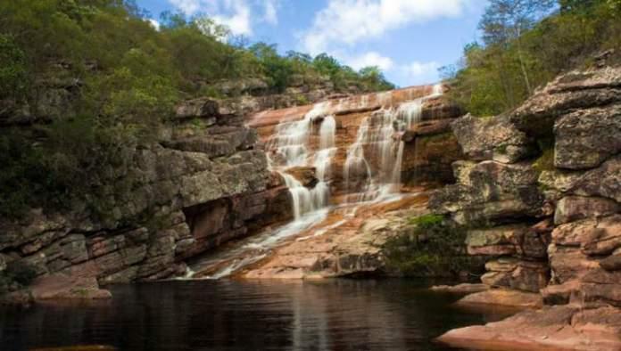Cachoeira do Riachinho em Vale do Capão na Chapada Diamantina