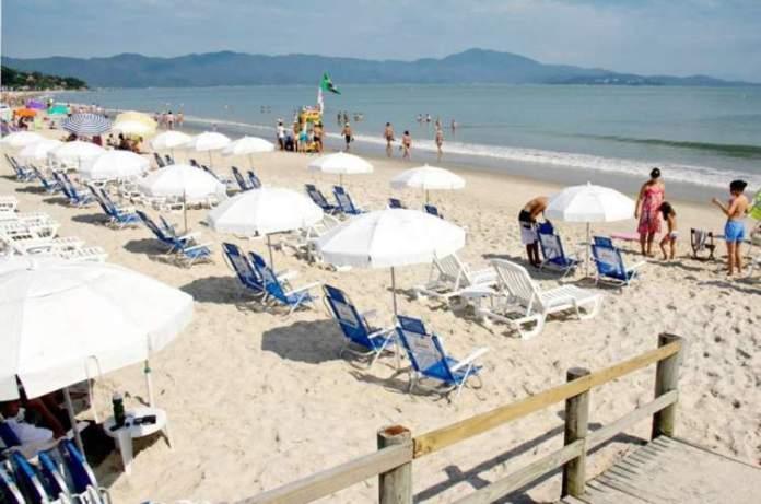 Jurerê Internacional é um dos pontos turísticos em Florianópolis