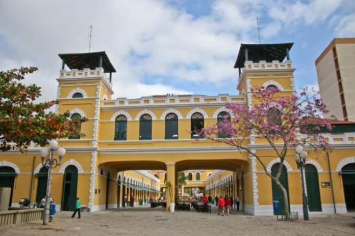 Mercadão Central é um dos pontos turísticos em Florianópolis
