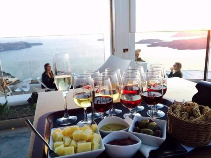 Santorini Visitar vinícolas