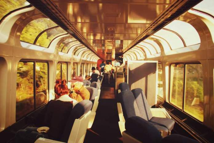 Viagens de trem em California Zephyr – Amtrak (EUA) cabines especiais