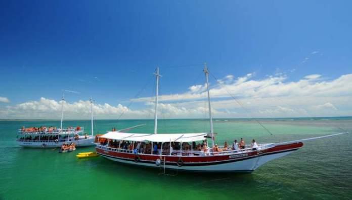 Dias perfeitos em Porto Seguro Recife de Fora