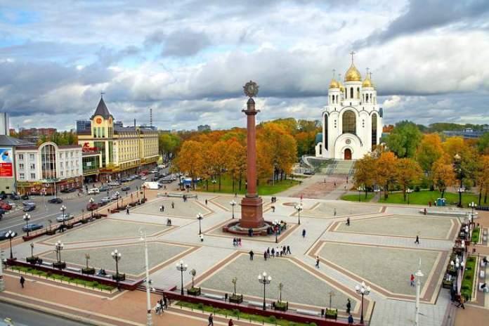 Kaliningrad é uma das cidades sedes da Copa do Mundo de 2018