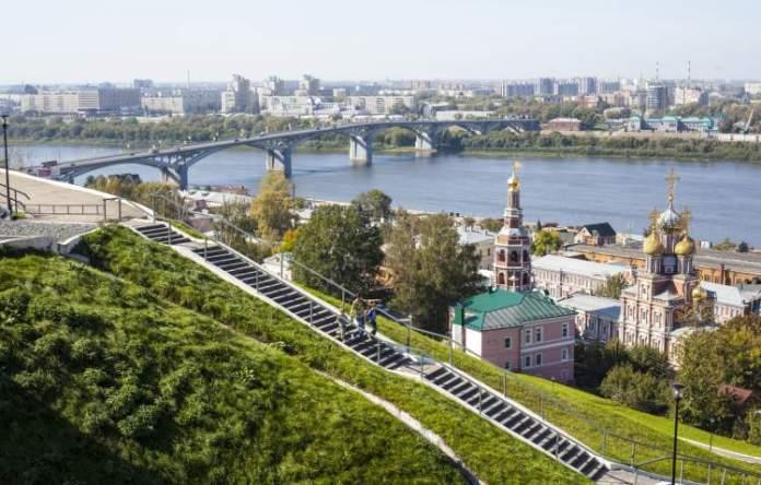Nizhny Novgorod é uma das cidades sedes da Copa do Mundo de 2018