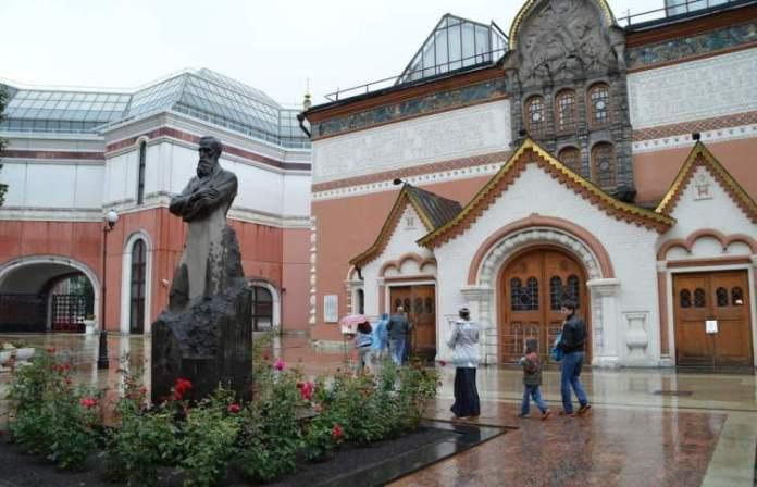Galeria Tretyakov é um dos pontos turísticos em Moscou