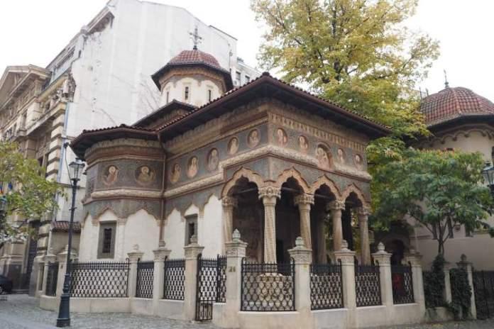 Igreja de Stavropoleos Bucareste Romênia