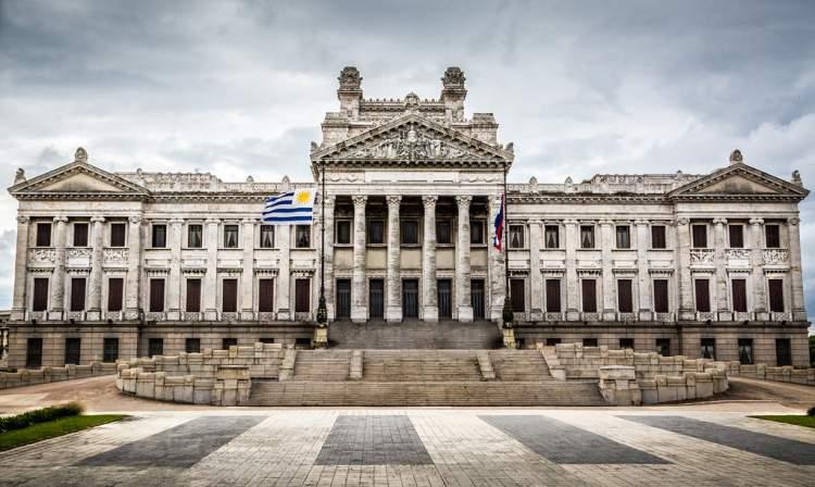 Palácio Legislativo em Montevidéu