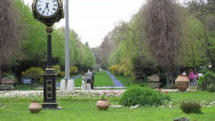 Parque Cismigiu Bucareste Romênia