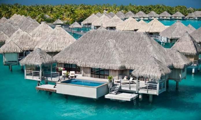 hotéis mais românticos do mundo Resort no Tahiti