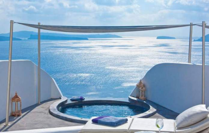 hotéis mais românticos do mundo em Grécia