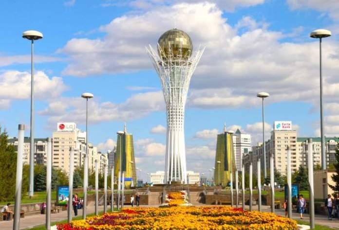 Astana Expo City no Cazaquistão é uma das cidades futuristas