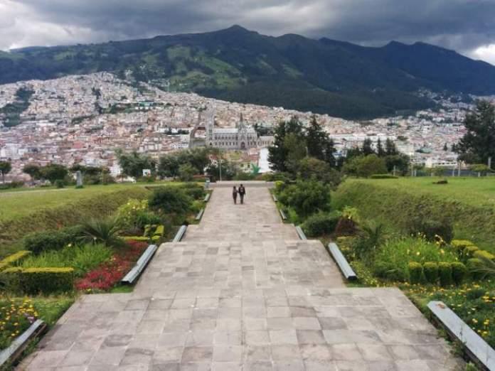 Parque Itchimbia em Quito