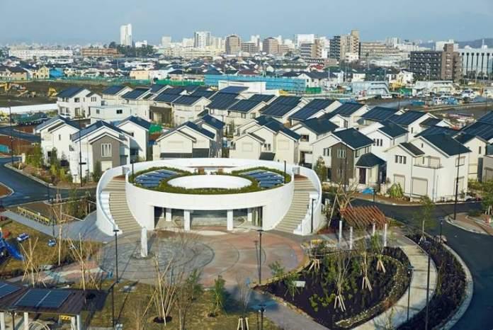 Pena Station Next nos Estados Unidos é uma das cidades futuristas
