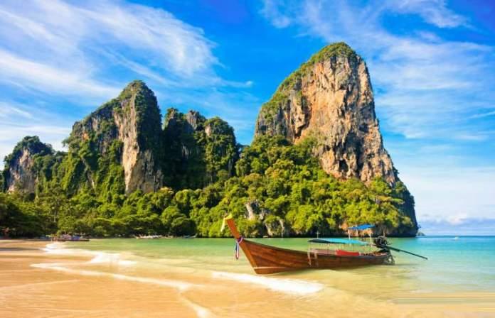Railay é uma das mais lindas praias da Tailândia
