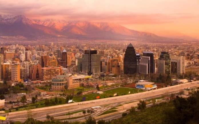 Santiago no Chile é um dos melhores destinos para viajar em dezembro
