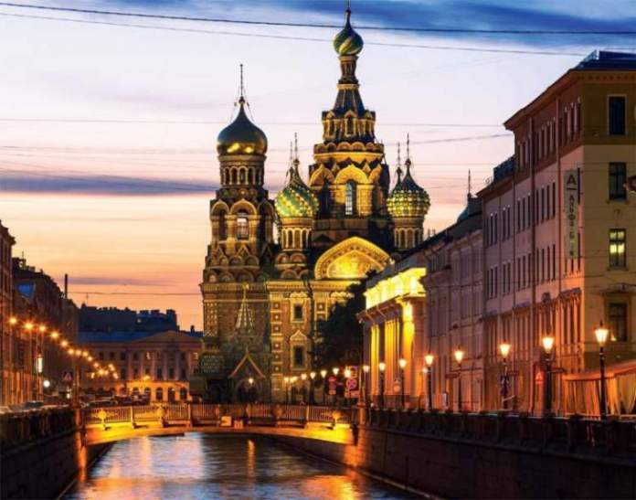 São Petersburgo na Rússia é um dos destinos para viajar na Europa em 2018
