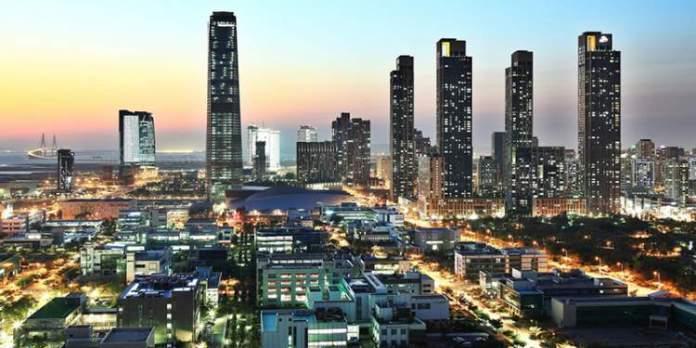Songdo na Coréia do Sul é uma das cidades futuristas