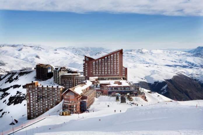 Valle Nevado é uma das cidades da América do Sul para ver neve