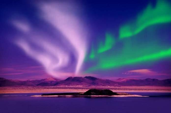 Alasca é um dos melhores lugares para ver a Aurora Boreal