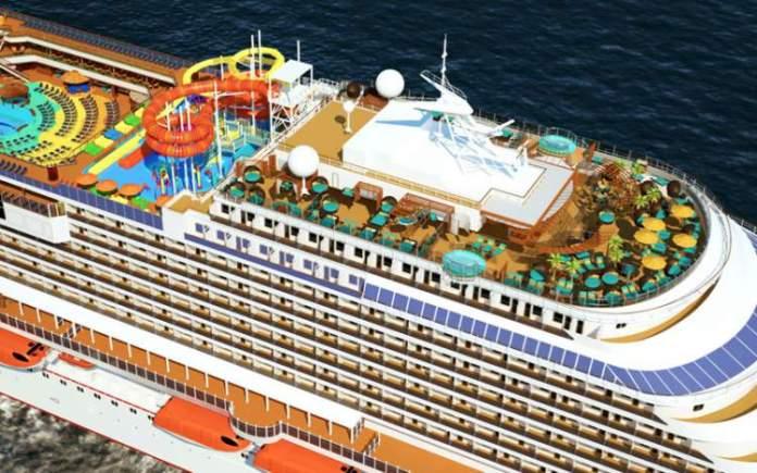 Carnival Cruise Line's Carnival Vista é um dos melhores cruzeiros do Mediterrâneo